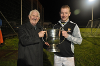 Deelrovers Captain John Garrett receives 2013 North Mayo Junior Cup