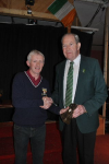 Cathal Prior Clubman of the Year 2012