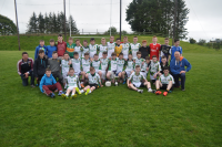 Gortnor Abbey 1st years 2015 Connacht C Winners