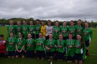 2015 U14 Girls Connaught Cup Winners