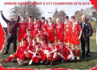 Arrow Harps U16 Boys League Champions