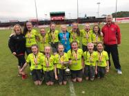 U12 Girls Champions Arrow Harps