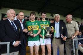Captain & Man of Match from Dingle Club