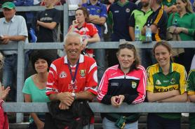 Kerry & Cork Supporters in the Terrace