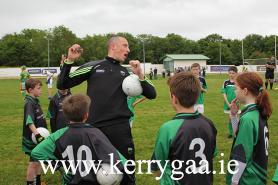 Kieran Donaghy Coacing U11s