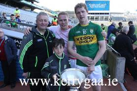 Celebrating with Christy Ring Cup