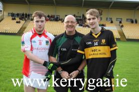 Captains with Referee