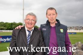Organising Committe Chairman Christy O'Connell & Ciaran Carey Senior Hurling Team Manager