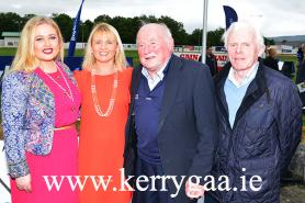 Jerry Brosan leading The Kerry GAA Supporters Club at Dog Night!