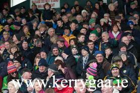 Supporters watching game. Photo: J Hanley