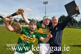 Hurling Officer Celebrates with players
