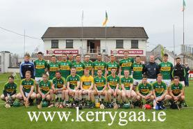 Kerry team for Semi Final V Kildare