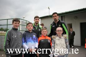Paul Geaney & Anthony Maher with a goup of supporters