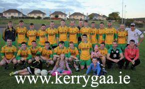 Gneeveguilla powered past Laune Rangers to claim their 5th McElligott Cup title in a row on a 5-11 to 0-13