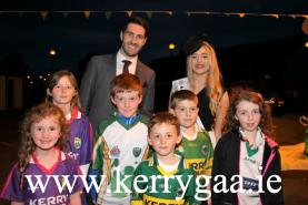 Kerry Captain Bryan Sheenan with supporters
