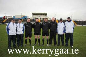 Match officials for game