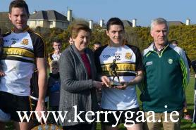 Captain Eoin Brosnan & Man of Match Brian Looney