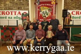 Crotta Coiste na nÓg Officers with Ritchie Power & Liam McCarthy Cup