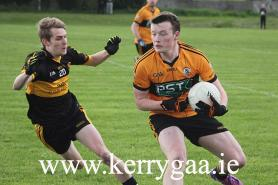 Ciaran O'Connell in action