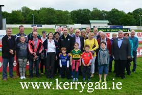 The Kerry GAA Club representatives in Club Sweep