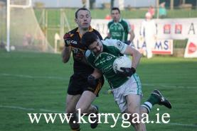 Action from Semi Final