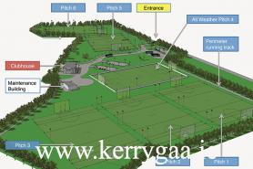 Currans GAA Training Facility site plan