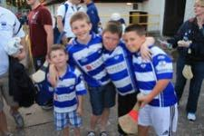 Some of our Loyal Young Supporters
