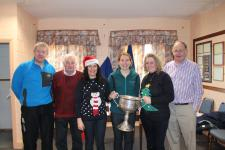 Reena and the LGA All Ireland Cup