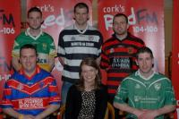 Fiona Darcy, Red FM CEO, with club reps at SHL Launch