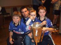 Young Sars Fans with Sean Og Murphy Cup