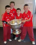 Scoil Eoin Pupils with Sam Maguire