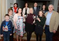 Rebel Og Award Feb -18 Carbery Rangers & Maggie Moynihan