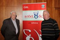 Jim Healy and John Purcell at Coiste na nOg Review