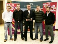 Diarmuid O'Sullivan with his brothers at 96Fm C103 Award Presentation