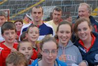 John Miskella with Supporters at Training