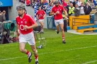 Cork Team take the field.
