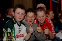 Thumbs up for Cork Footballers at the Boxing fundraiser