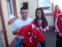 Brian Murphy at Scoil Bhride Rathcormac