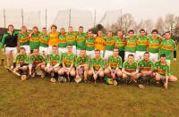 The Meelin team who beat Fullen Gaels in Birmingham