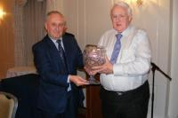 Presentation by Frank Murphy to Jim Healy