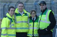 Ambulance Staff at Pairc Ui Rinn