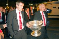 Graham Canty and Conor Counihan with Sam Maguire!
