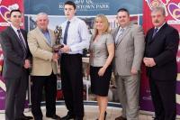 Cathal Vaughan Award Presentation