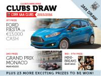 Cork GAA Clubs Draw 2015/2016 - join/renew online - www.corkgaadraw.ie