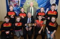 Munster Scór na nÓg 2017 Winner Tadhg MacCarthaigh