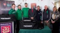 AIB Cork hosts Ballincollig county S.F. champions 2014