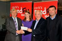 RedFM SHL Presentations: Sars receive their Winners' Cheque
