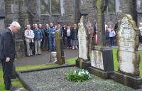 An Uachtarán Aogán Ó Fearghail attending Sam Maguire Commemoration Dunmanway 12.09.2015