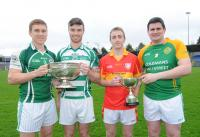 Title Holders Ballincollig - Valley Rovers - Éire Óg - Millstreet at County Football 2015 Championships Launch
