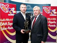 Diarmuid O'Sullivan, 96FM C103 Award Winner October, with his father, Jerry